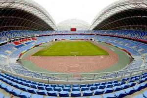 The Shenyang Olympic Stadium is the main venue for the Olympics Aug 8-24, 2008