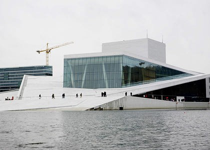 Norway-Oslo Opera House